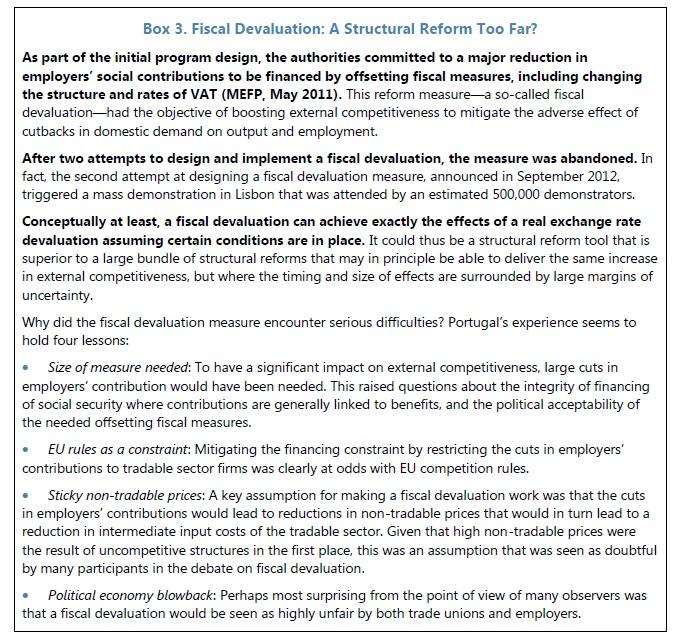desvalização fiscal