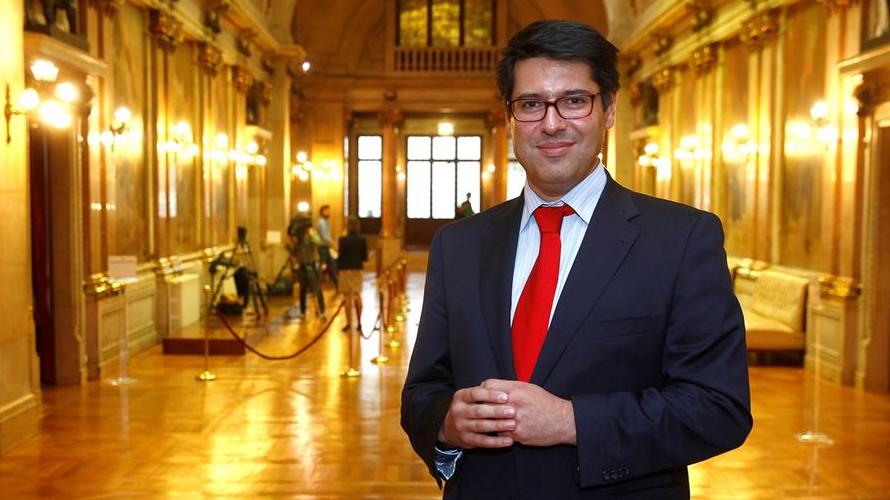 Ricardo Mourinho Félix, secretário de Estado do Tesouro Créditos: CM