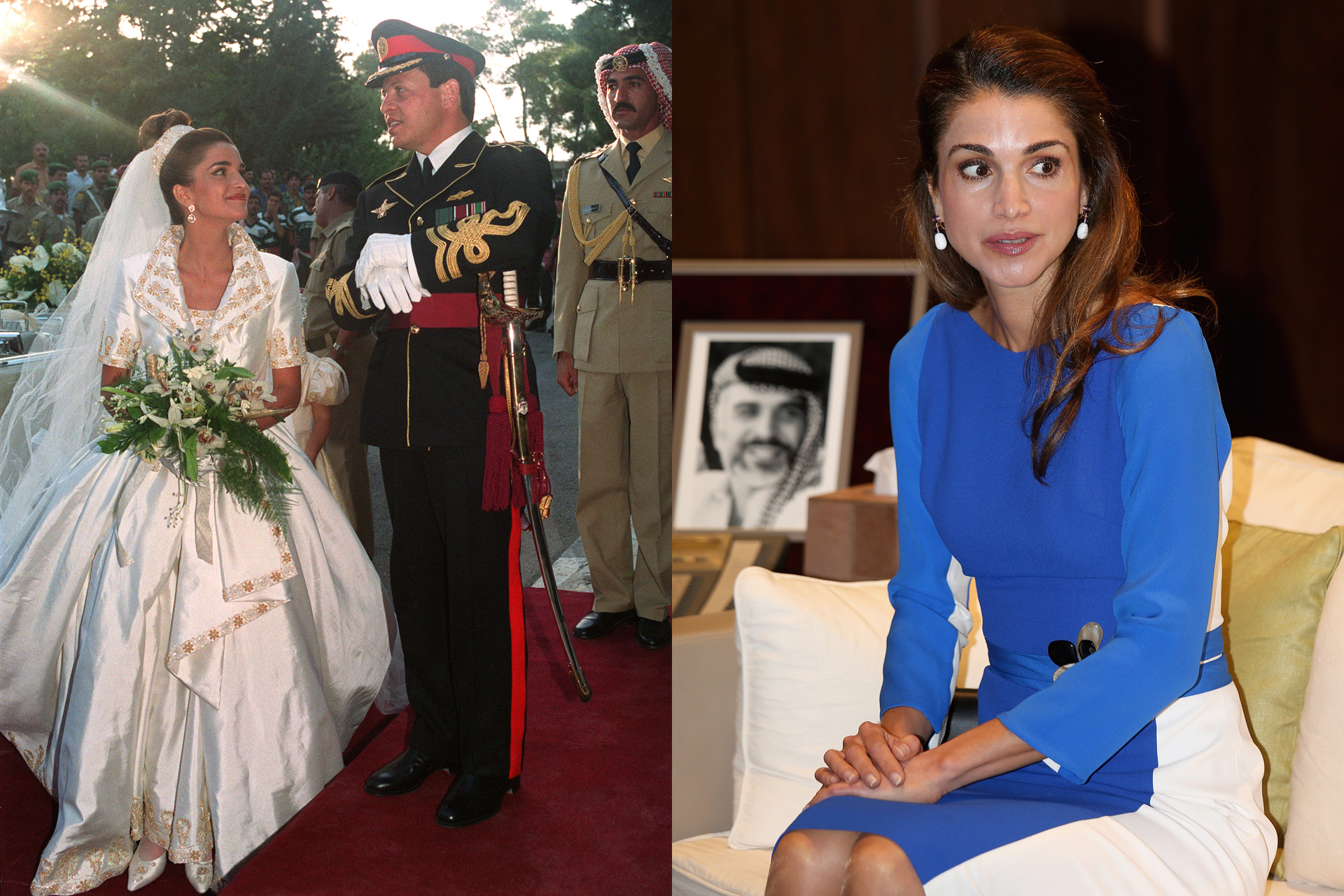 King abdullah daughter wedding
