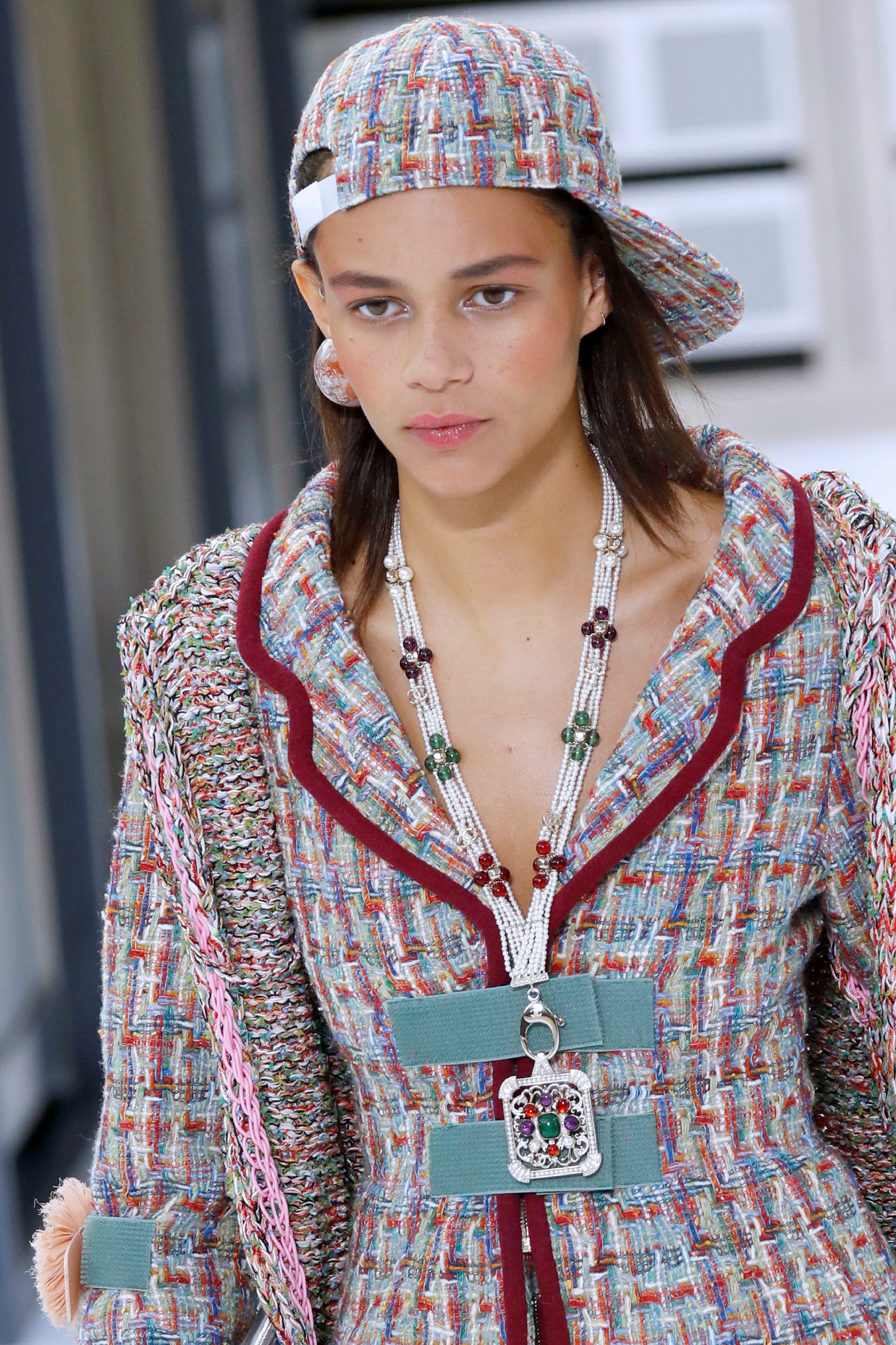 bf03428c0f8 Chanel Spring Summer 2017© Getty Images