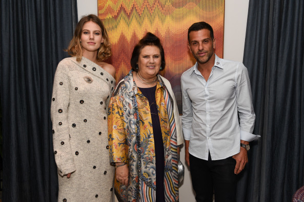 Alexandre Birman, Suzy Menkes e Johanna Birman CREDIT SuzyMenkesVogue