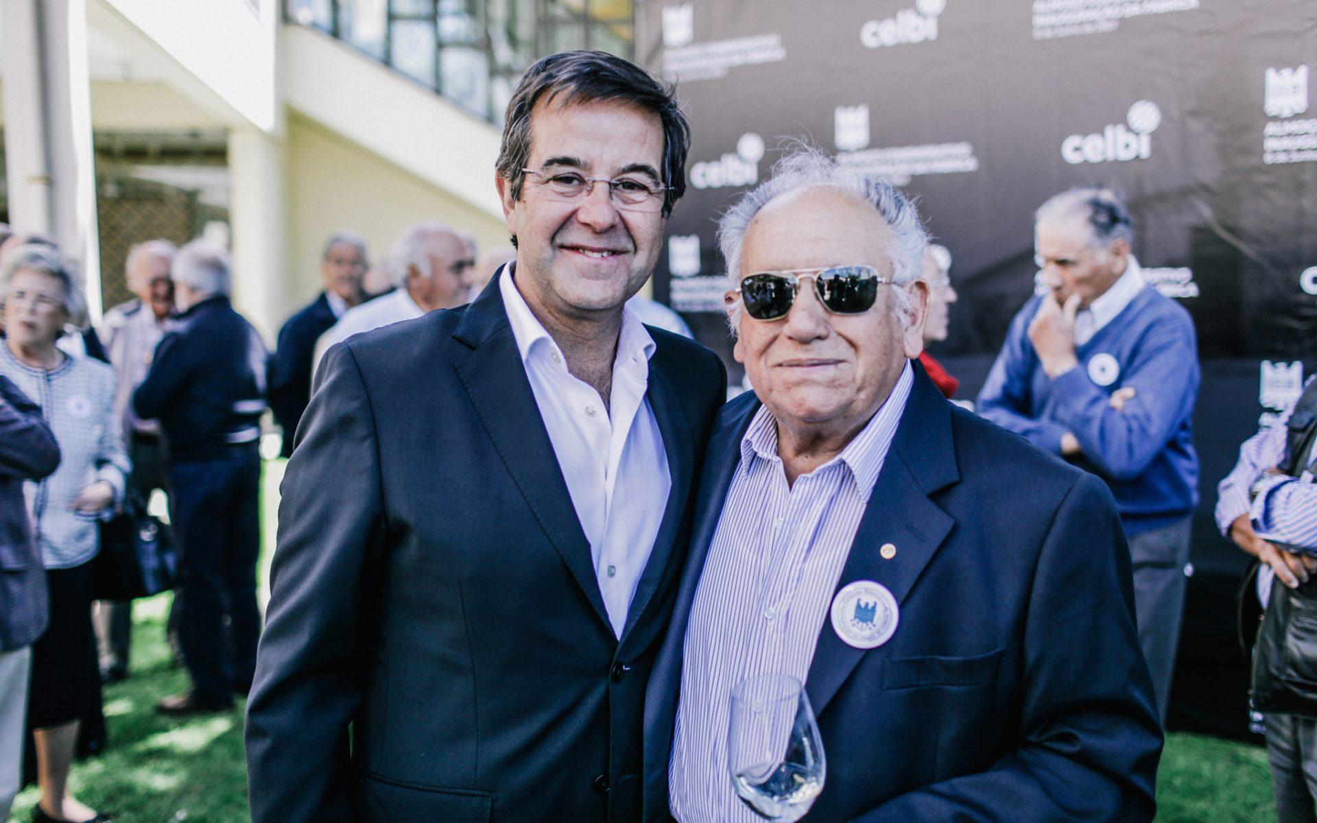 Nogueira Santos and José Gonçalves, former worker at Celbi
