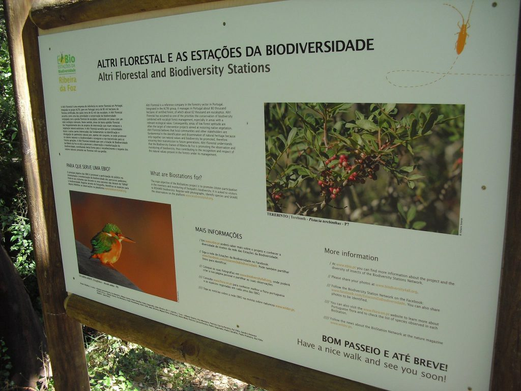 A Estação da Biodiversidade da Ribeira da Foz integrou no passado dia 30 de Maio a rede das EBIO.