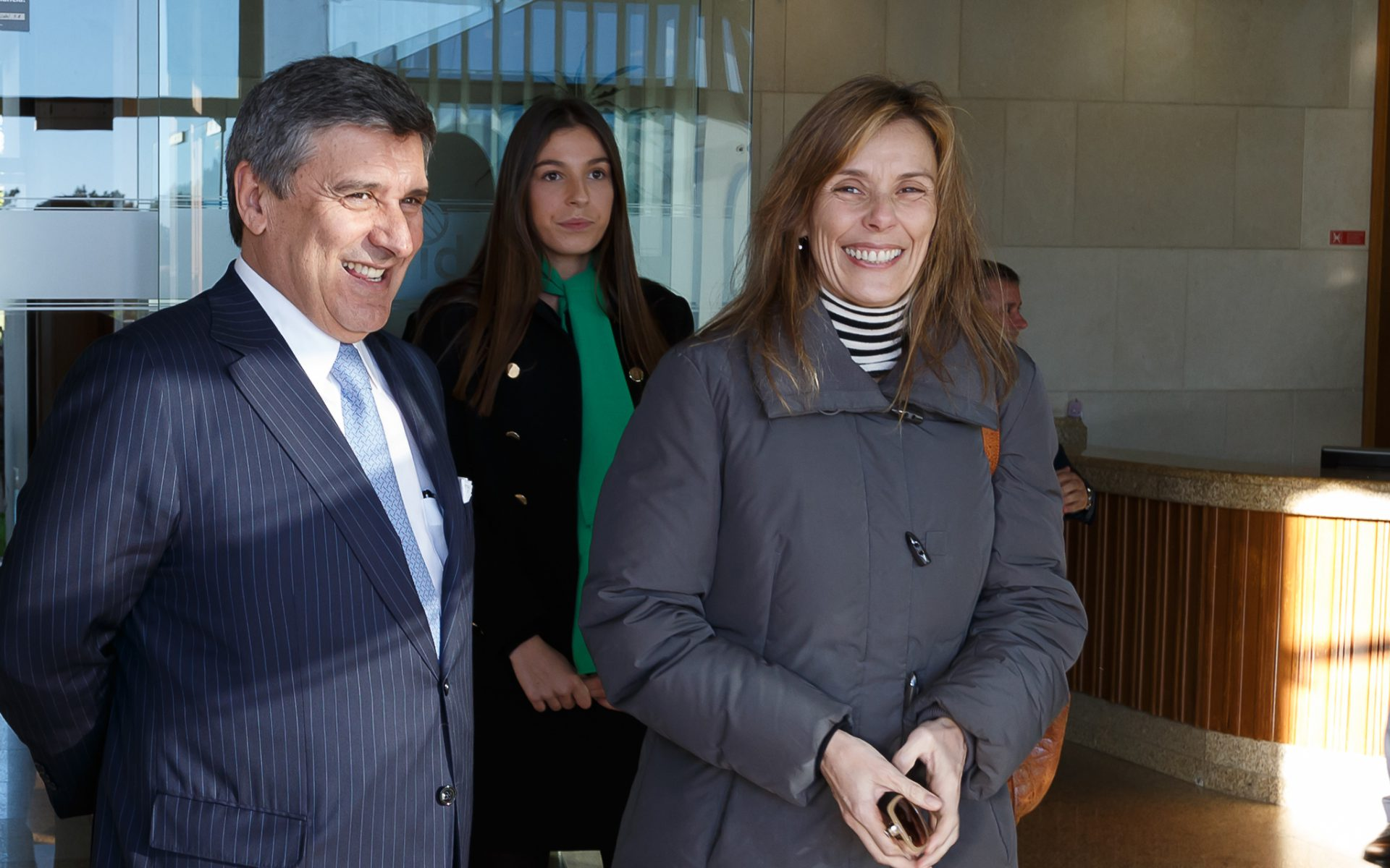 Paulo Fernandes, presidente da Altri e Ana Mendonça, administradora da Altri