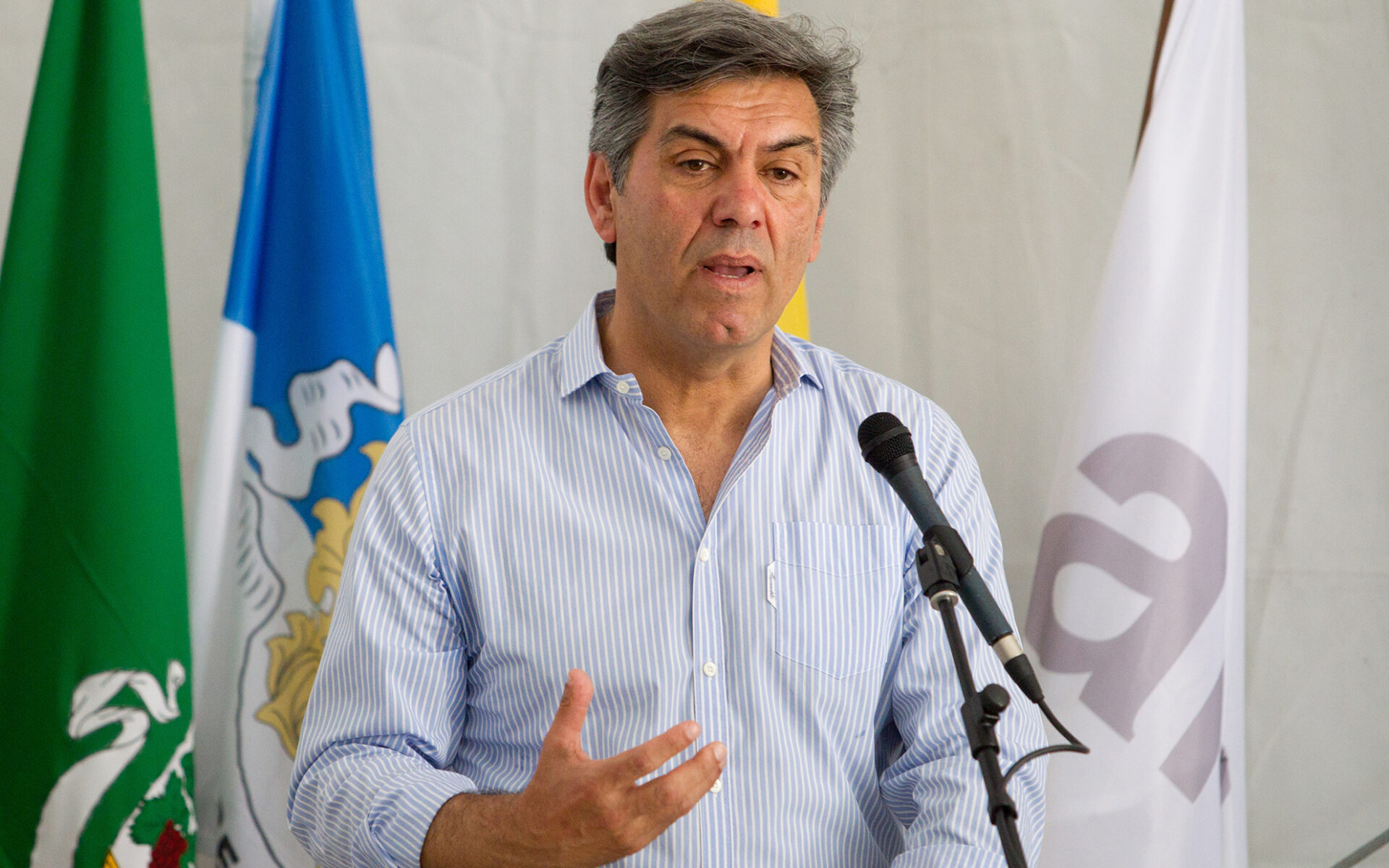 The ceremony was brought to a close by the Secretary of State of Forests and Rural Development, Miguel Freitas