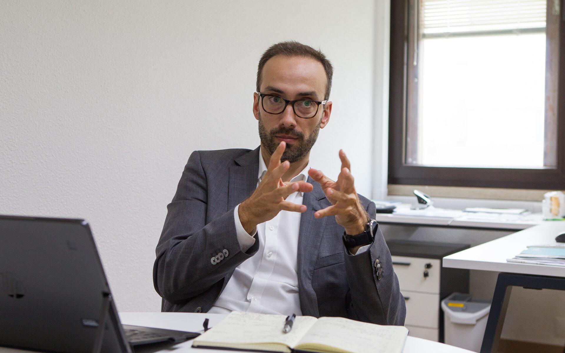 Gabriel Sousa, diretor de Inovação e Desenvolvimento Tecnológico da Altri