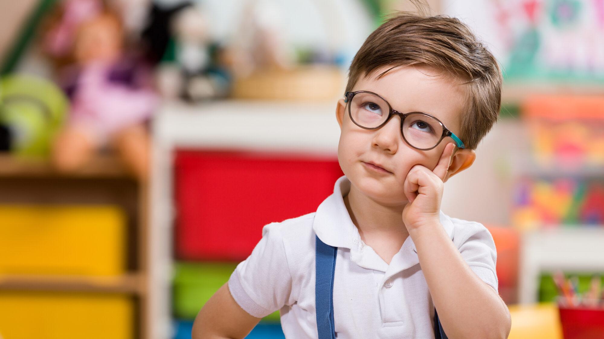 O seu filho tem problemas de visão?