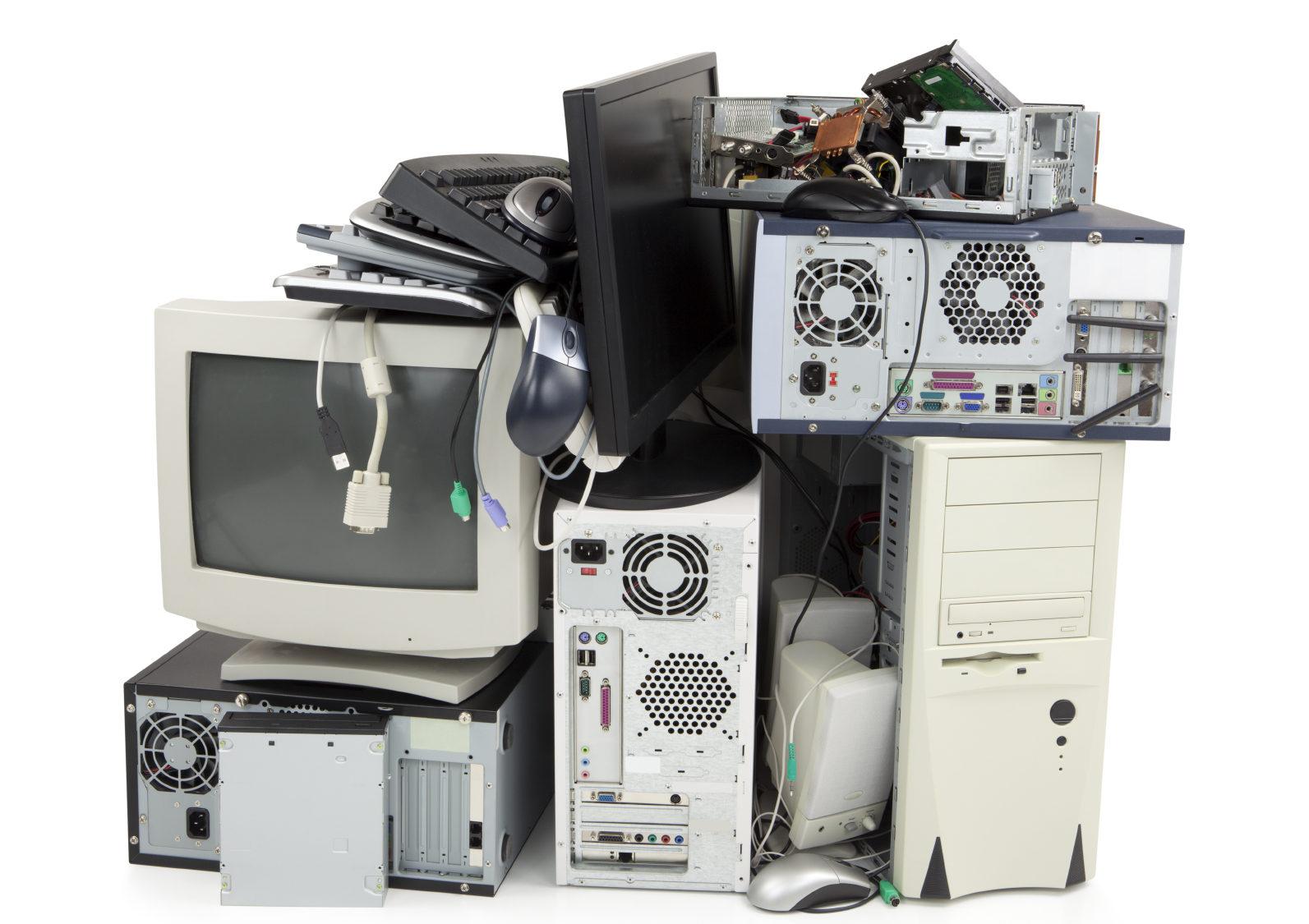 Reaproveitar equipamentos eletrónicos