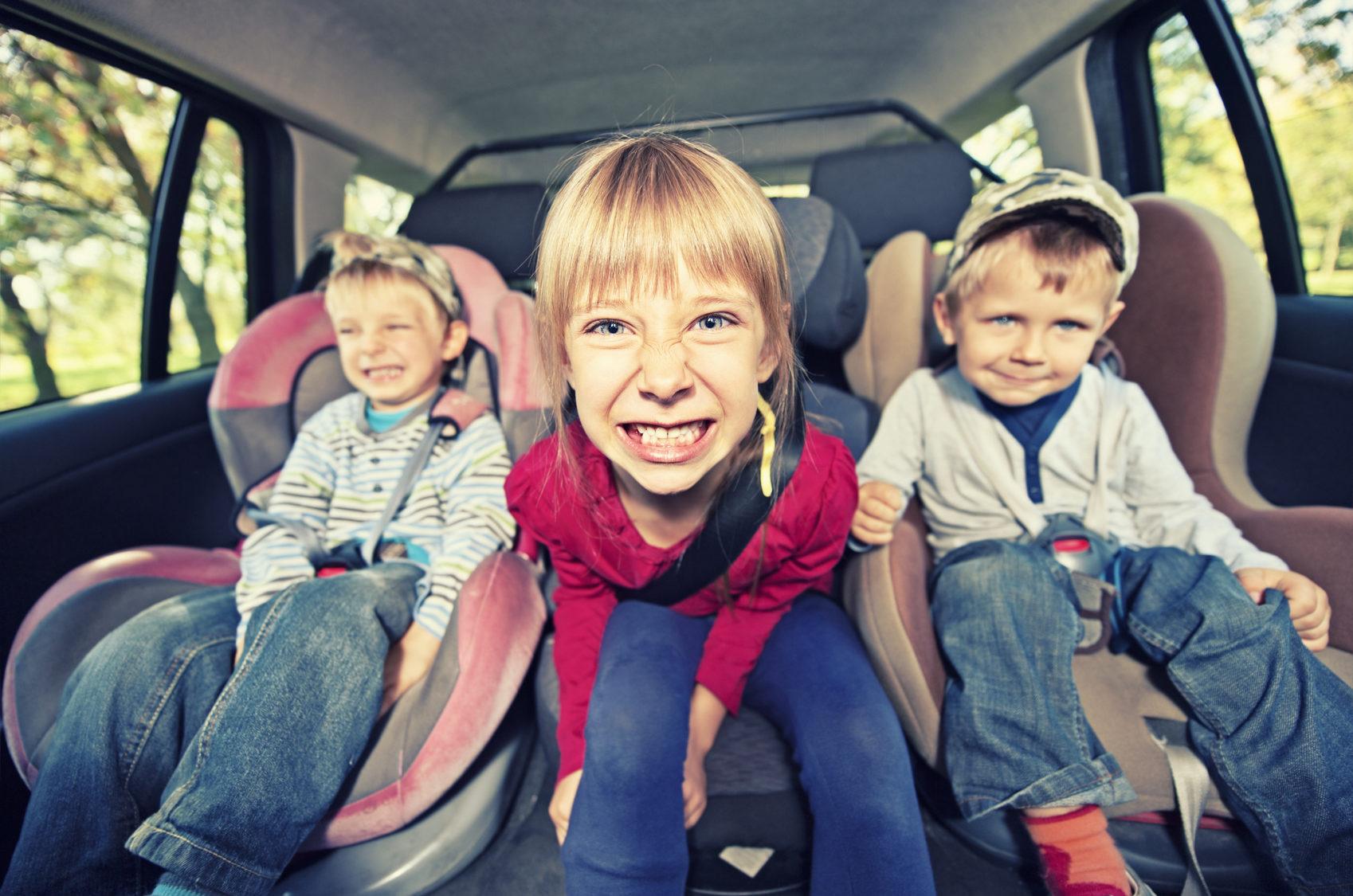 Viagens mais divertidas com crianças a bordo