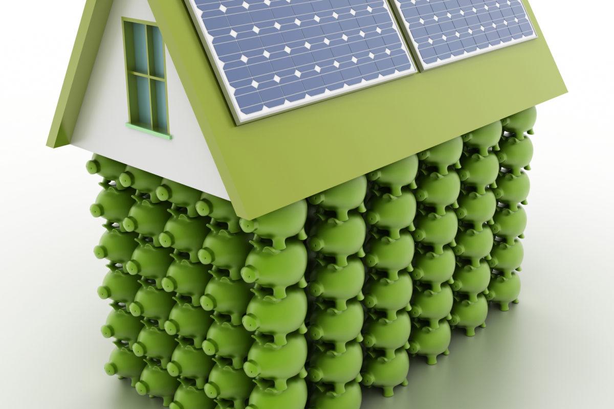 Casa mais sustentável, despesas reduzidas