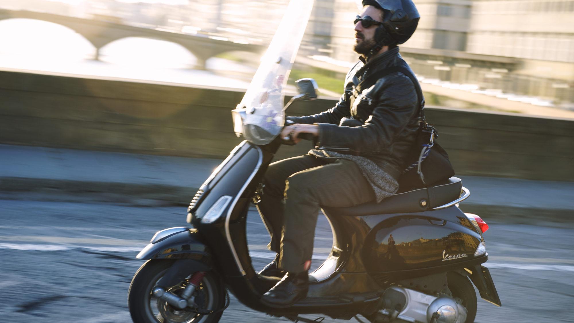 Condução mais segura com scooters
