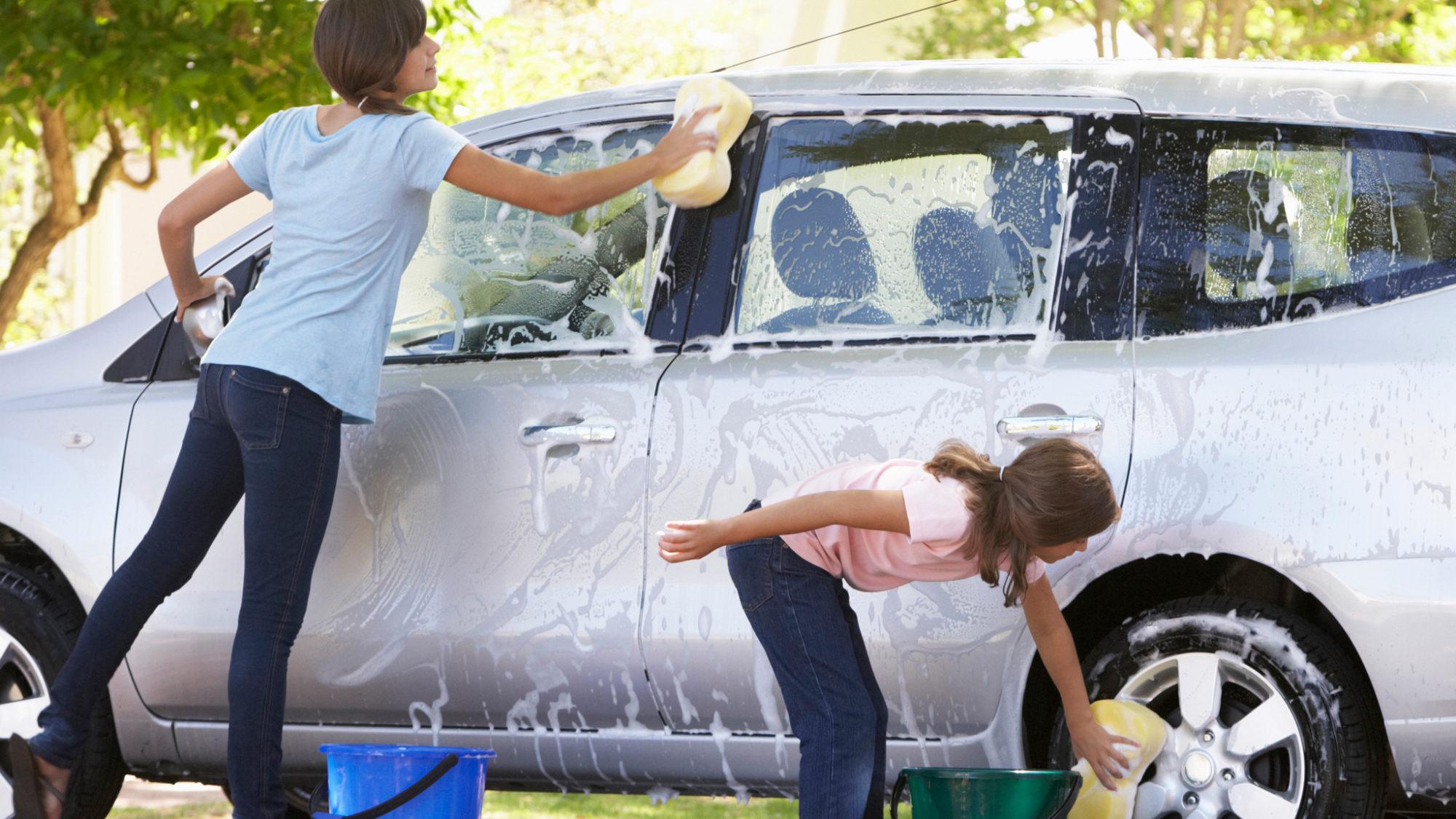 Carro bem lavado e limpo mais tempo