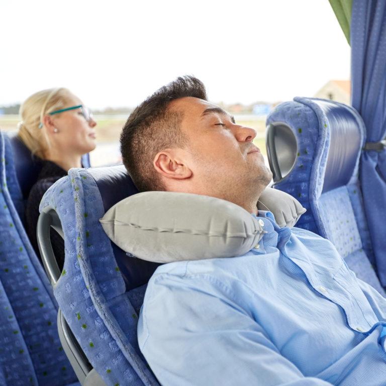 Mais confortável em viagem