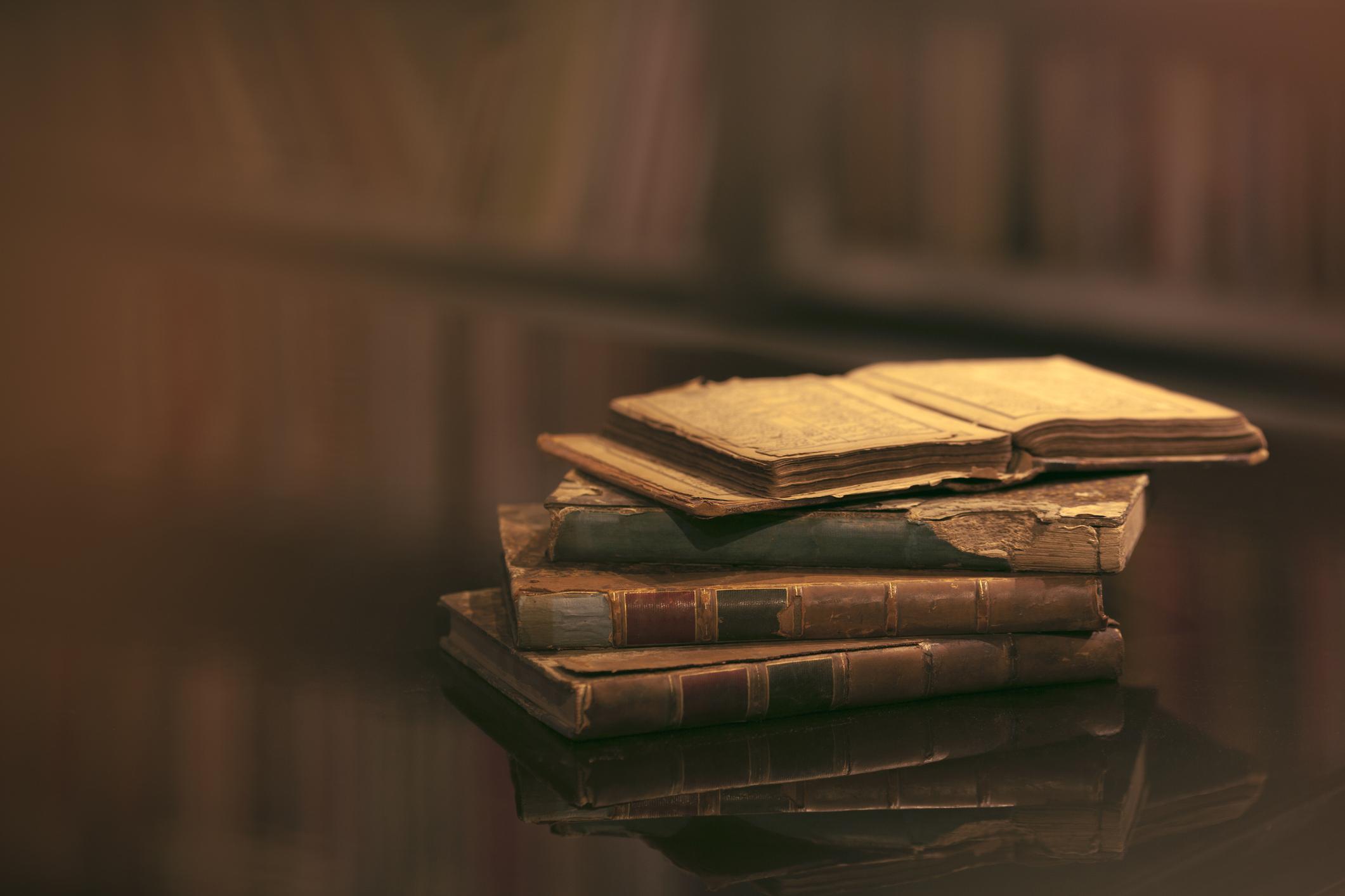Livros impecáveis durante mais tempo