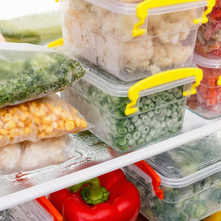 7 Dicas para congelar e descongelar bem os alimentos