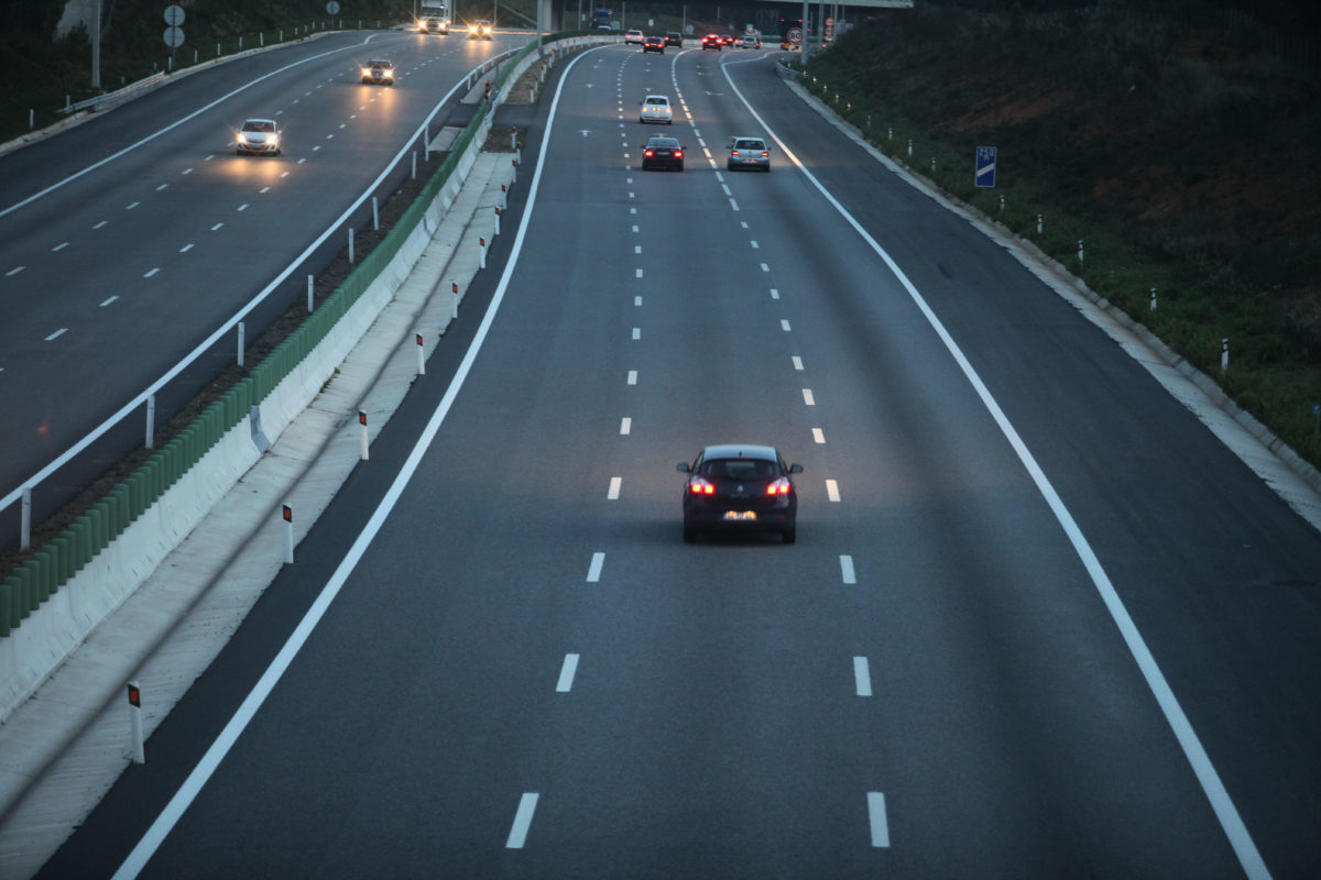 Condução mais segura em autoestrada