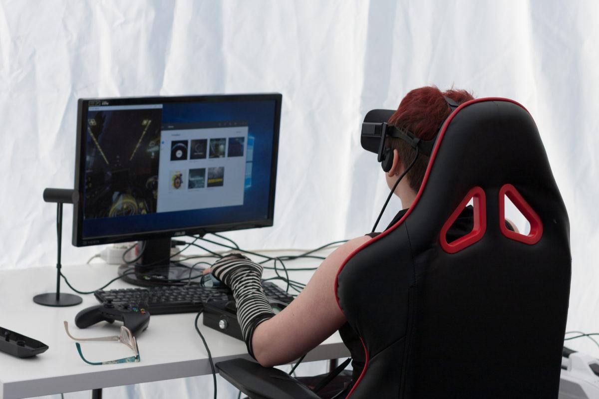Cinco cadeiras para gamers