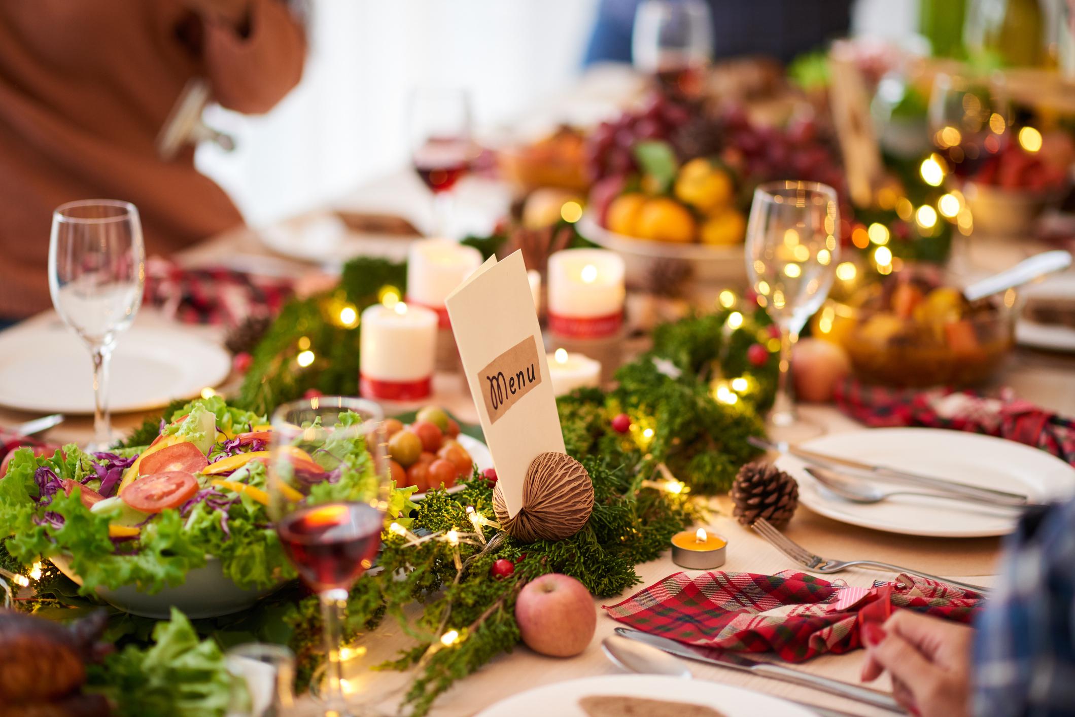 Refeições natalícias – conheça cinco bons aliados