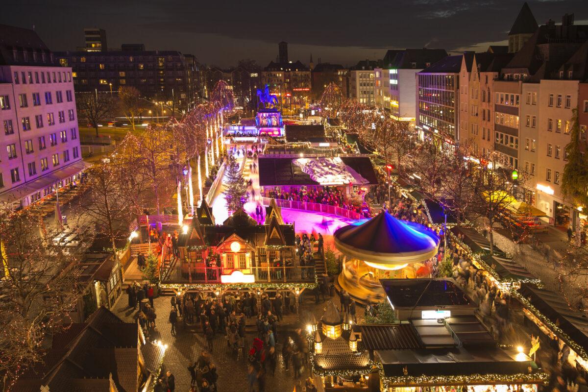 Mercados de Natal à sua espera