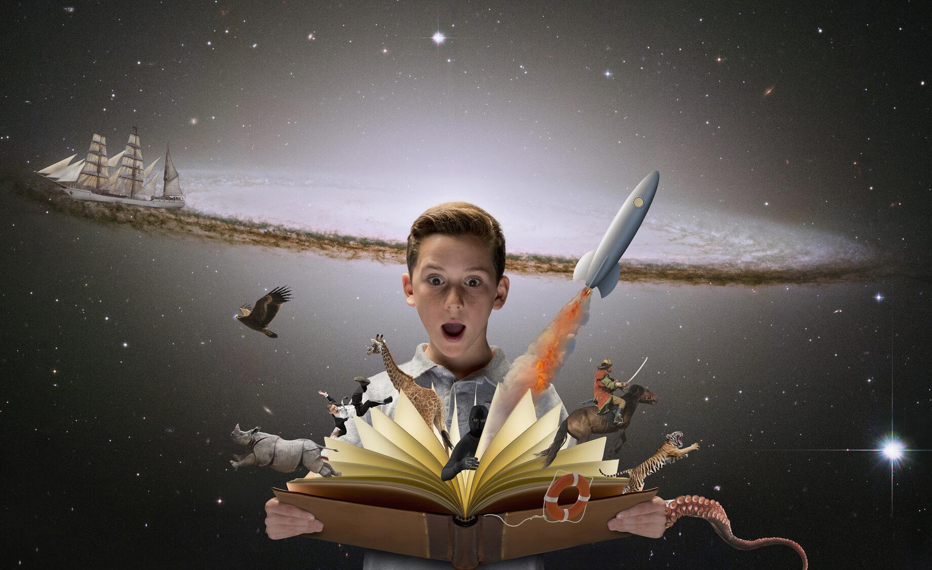 Dicas para despertar o gosto dos seus filhos pela leitura