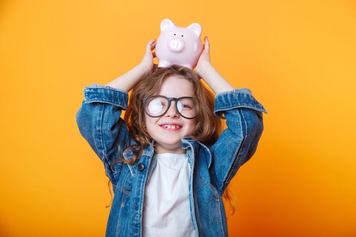 A literacia financeira começa de pequenino