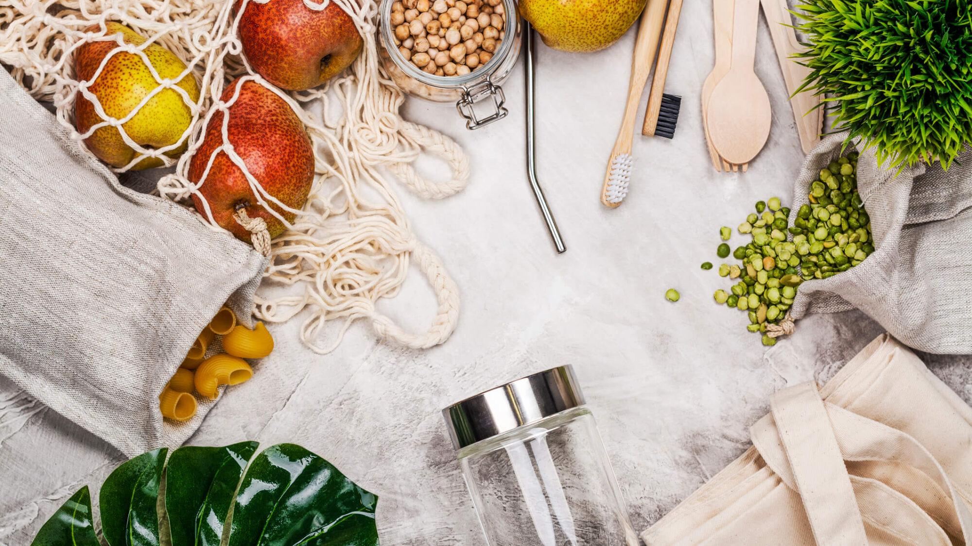 Como reduzir o plástico na cozinha