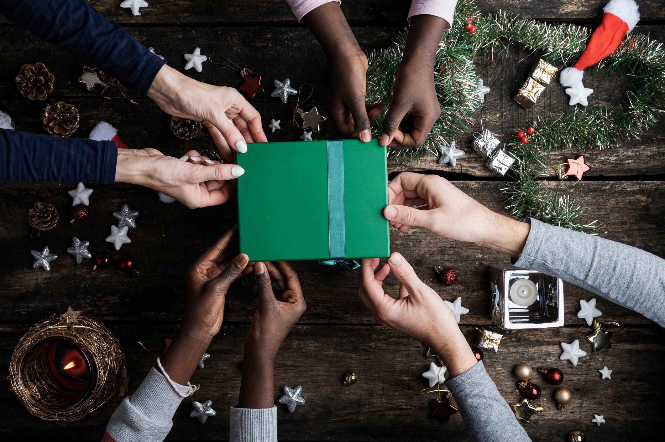 Ajude a proporcionar um Natal melhor a quem precisa