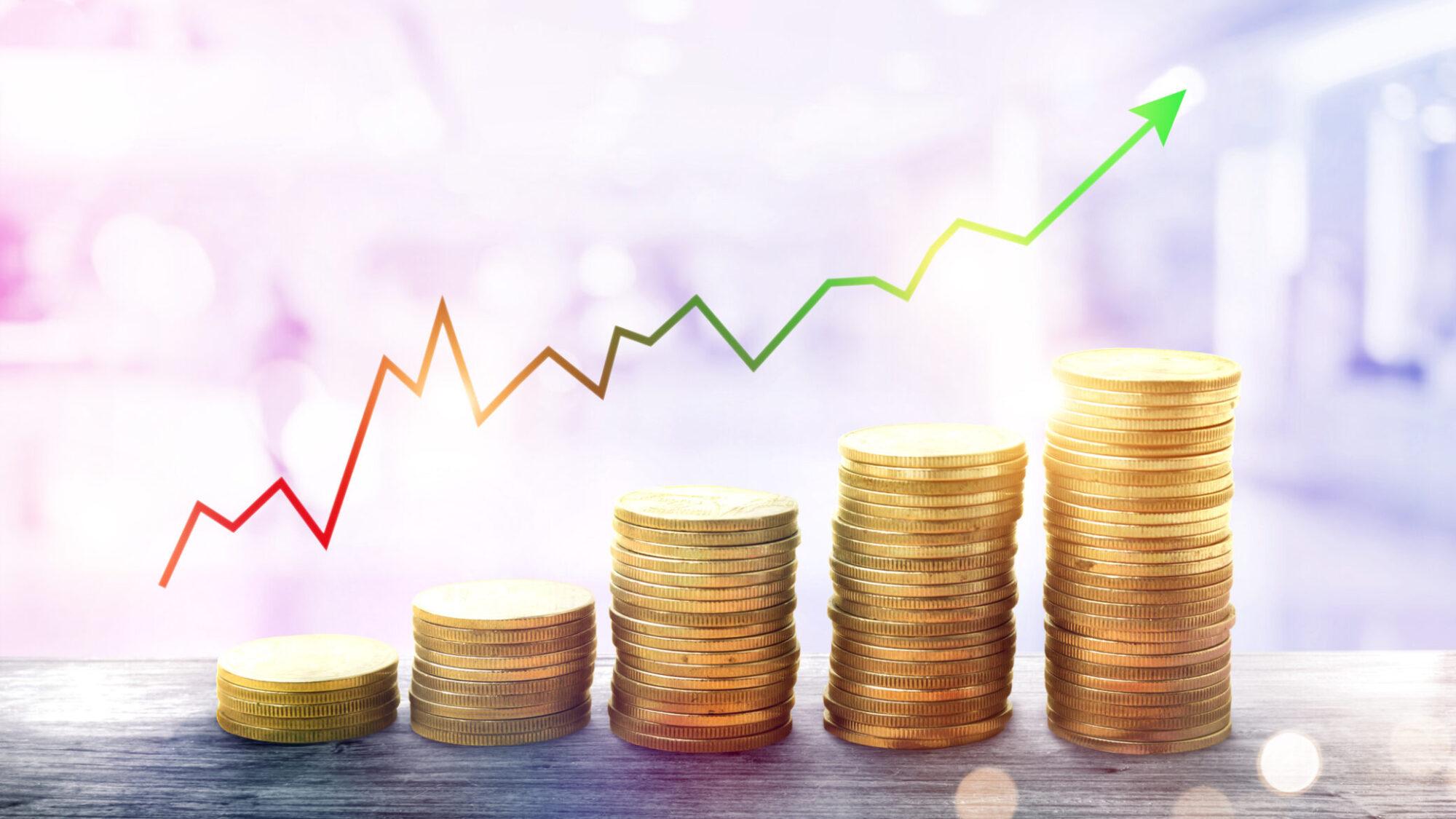 Evolução prevista nos preços em 2021